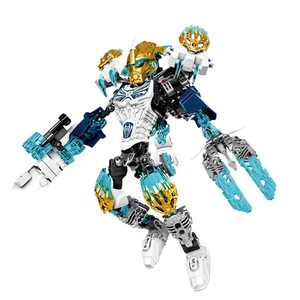 Image 2 - BIONICLE Tahu Ikir action figures Building Block Toys Compatible With Lepining BIONICLE Gift