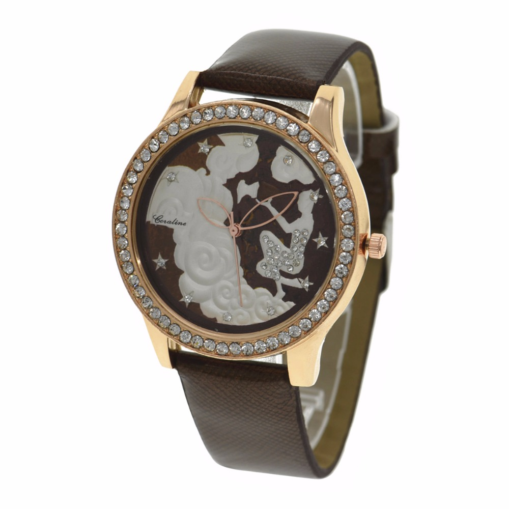 2017 grosir jam tangan fashion awan gadis unik wanita quartz perhiasan kulit pria olahraga
