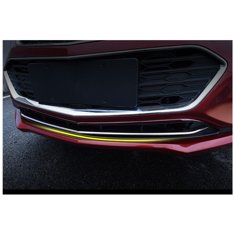 ABS chrome front head grille racing grill bumper trim for Chevrolet Cruze 2016 2017 high quality chromed grill grille trim cover for chevrolet chevy trax 2014