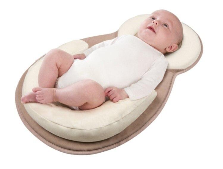 Komfortable Baby-kissen-säuglingskleinkind Schlafposition Kissen Baby-schlaf Stabilisator Kissen Kissen Rollover Prävention Matratze