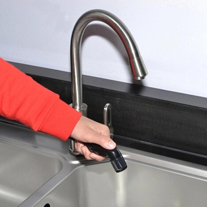 Dapur Tangan Sprayer Jet Shower Shattaf Toilet Sprayer 60002 Abs