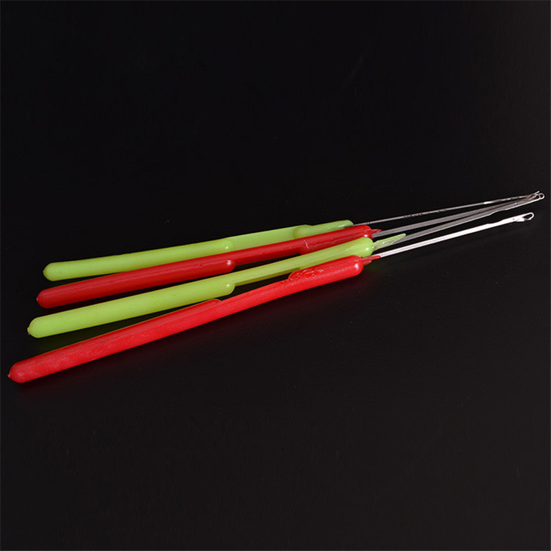 Knitting Hook Tool : Pcs mixed latch needles crochet hook knitting tools