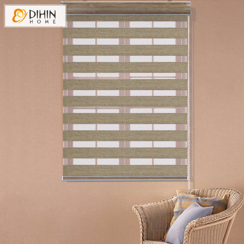 2016 Thick Luxury Curtains New Arrival Thickening Roller Shutter Double Layer Shade Blinds Custom Made Curtain