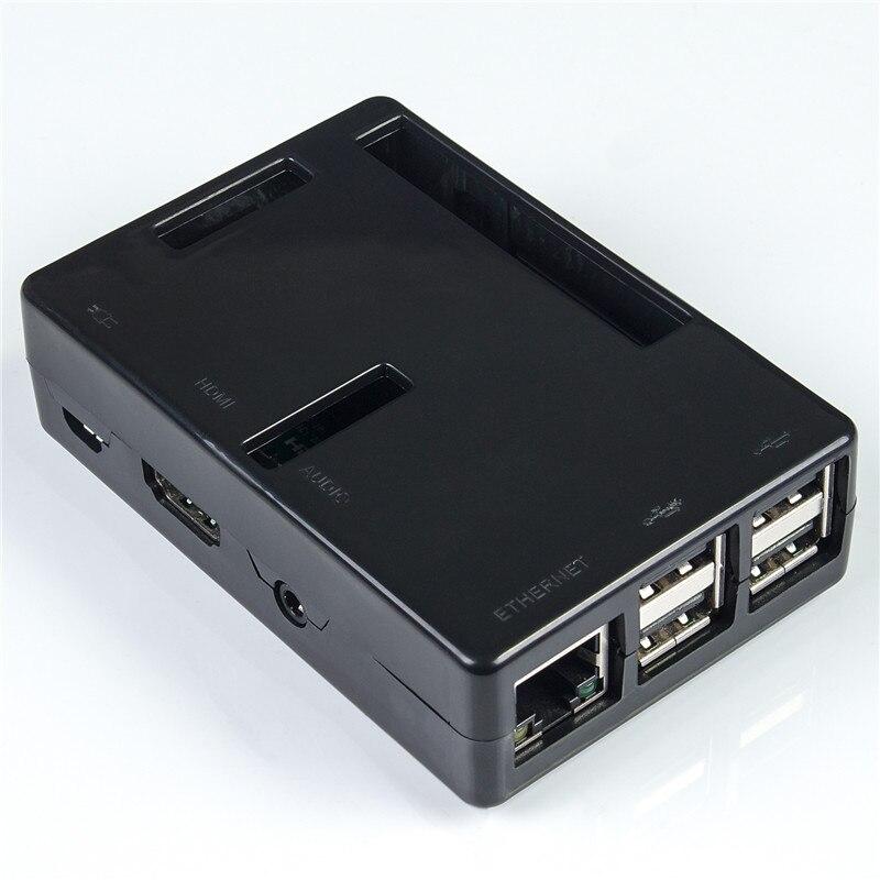 SunFounder ABS Cases for Raspberry Pi 3  2 Model B & Raspberry Pi 1 Model B+  Raspberry Pi ABS Plastic Box