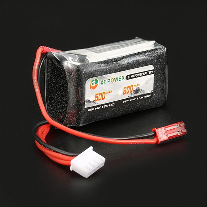 цена на High Quality Rechargeable Lipo Battery XF Power 11.1V 600mAh 3S 30C Lipo Battery JST Plug