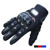 Pro Biker Fashion Motorcycle Gloves Velcro Full Finger Men Moto Sports Motorbike Motocross Protective Gear Racing