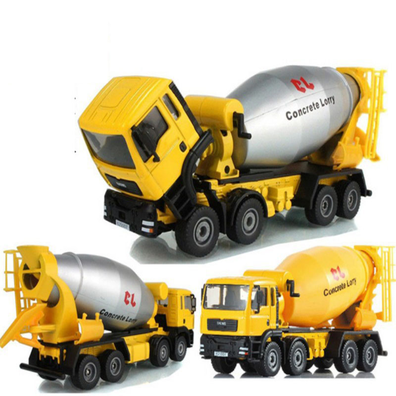 mini car model truck agitating lorry mixer truck cool baby toy good gift for children kids car toy baby favorite