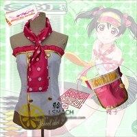 Anime Love Live Yazawa Nico Lolita Dress Uniform Cosplay Costume Summer Part Time Job Any Size