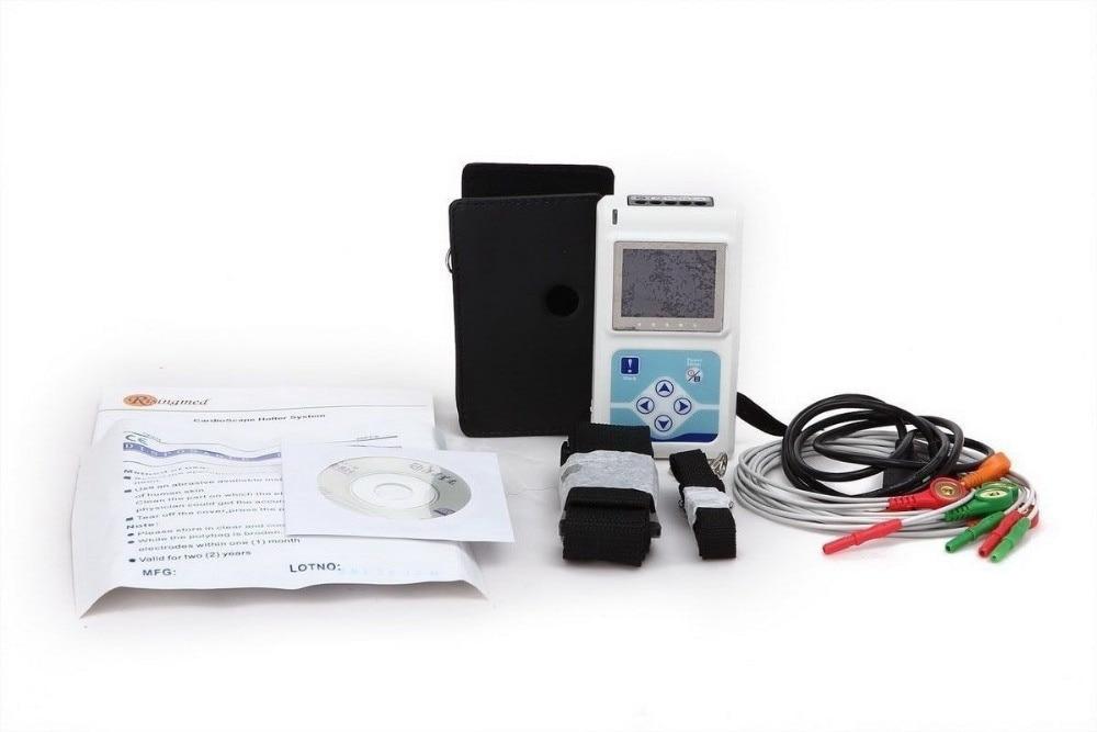 12 Kanal TLC5000 24 Saat EKG Holter, LCD Ekran Monitorinqi EKG - Səhiyyə - Fotoqrafiya 6