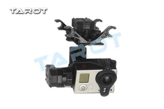 Таро t4 3d Бесщеточный Gimbal для GoPro Hero4/3 +/3 tl3d01 Таро multirotor запасных Запчасти Freetrack доставка