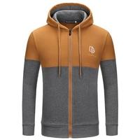 Spring Autumn Causal Mixed Color Full Sleeve Outwear Coat Men Leisure Baseball Uniform Zipper Hoodie