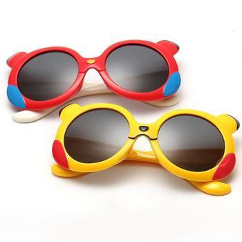 AGEKSUL Flexible Cute Child Kid Glasses TR90 Frame UV400 Anti-UV 100% UV Protection Boy Girl Baby Sunglass Goggleses Eyewear brompton stickers