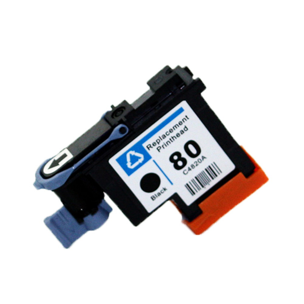 YLC 80 BK C M Y Compitable Printhead C4821A for HP80 Printhead for hp 80 Ink Cartridge Head for HP Designjet 1050 1055 printer стоимость
