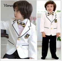 Smart Kids Formal Suits Graduation Birthday Party Suits Wedding Page Boy Tuxedos toddler suits arrival kids tuxedos formal wedding page boy party prom suits
