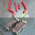 Для Yamaha Yz 125 1996-2001 R & L алюминиевый радиатор и комплект силиконовый шланг
