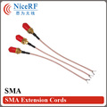 10pcs/pack  Free shipping SMA head extension cable /antenna tieline with female SMA head