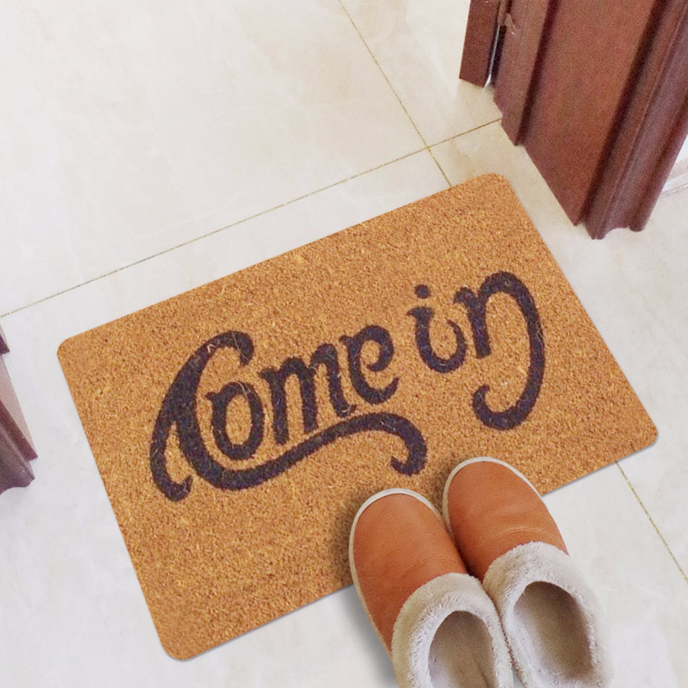 CAMMITEVER Come In Rug Carpet Entrance Door Mat Antiskid Mats Rectangle Floor Carpets Doormat For Home Decor