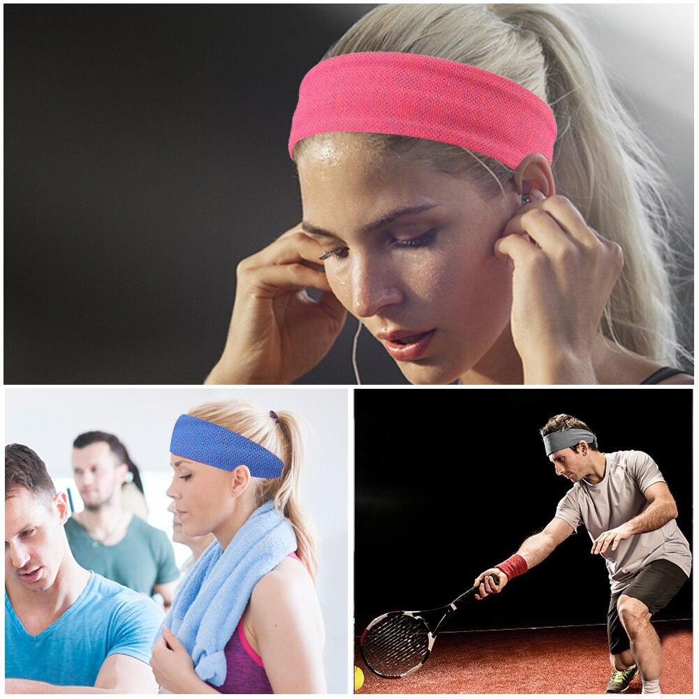 dc6f5d154eceb6 Tennis Badminton Grip Sport Schweißband Stirnband Männer Frauen ...