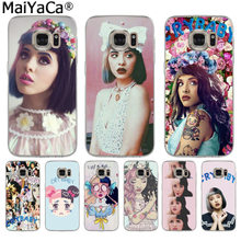 MaiYaCa Melanie Martinez Cry baby Colorful Phone Accessories Case for Samsung S3 S4 S5 S6 S6edge S6plus S7 S7edge S8 S8plus(China)