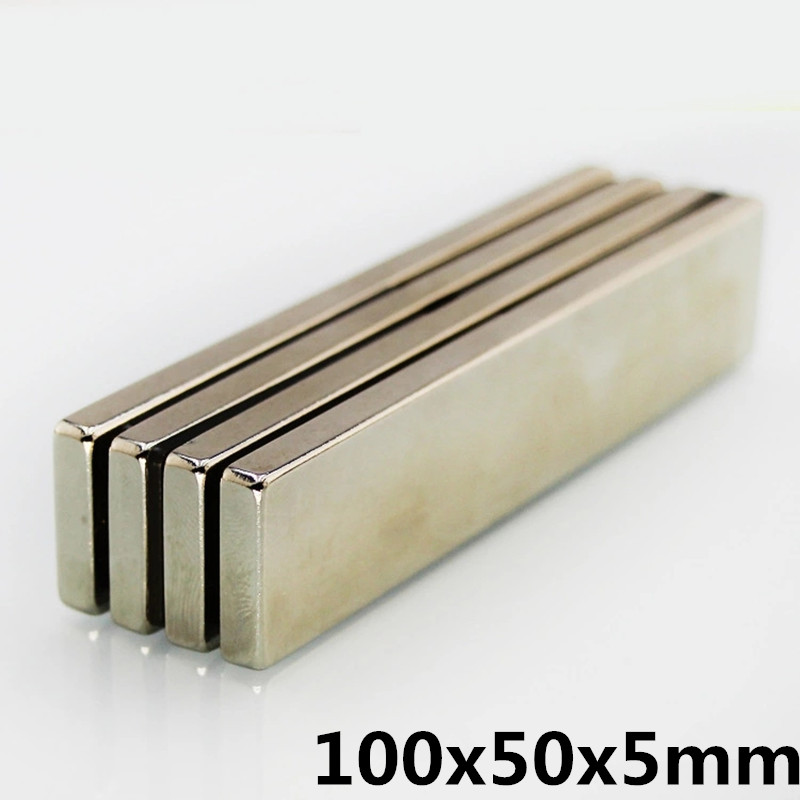 1pcs F 100x50x5 mm N35 Strong Square NdFeB Rare Earth Magnet 100*50*5 mm Neodymium Magnets 100mm x 50mm x5mm1pcs F 100x50x5 mm N35 Strong Square NdFeB Rare Earth Magnet 100*50*5 mm Neodymium Magnets 100mm x 50mm x5mm