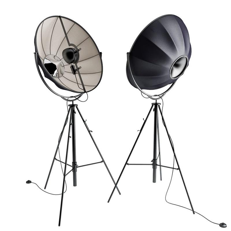 Post modern Tripod Floor Lamp Satellite Standing Light Adjustable Photo Studio Decorative Lights For Office home deocation