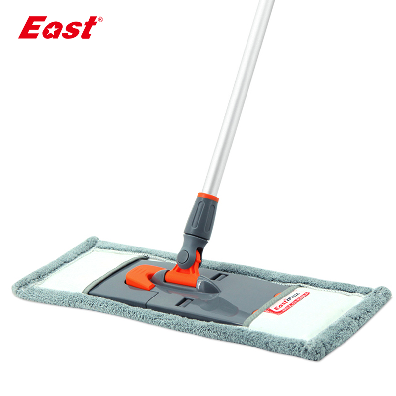 East New Flat Mop Telescopic Pole Microfiber Cloth Towel Useful Mop Kitchen Living Room Floor Household Cleaning Tools ES1768