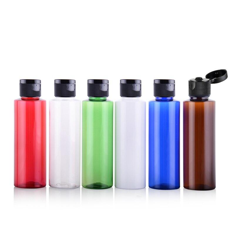 100ml Empty Shampoo Plastic Bottle for Women PET Makeup Storage Cosmetic Bottles Toner Essential Oil Package