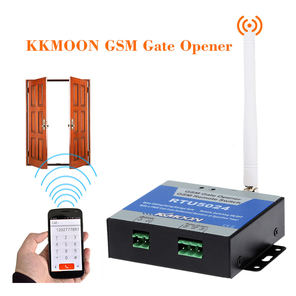 Gsm gate opener relay switch remote on off access
