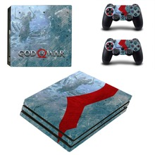 Game God of War PS4 Pro Skin Sticker Vinyl Decal Sticker