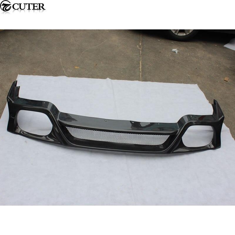 Diffuseur de lèvre de pare-chocs arrière de fibre de carbone de GTR GT-R R35 pour le kit 08-13 de carrosserie de Nissan GTR R35