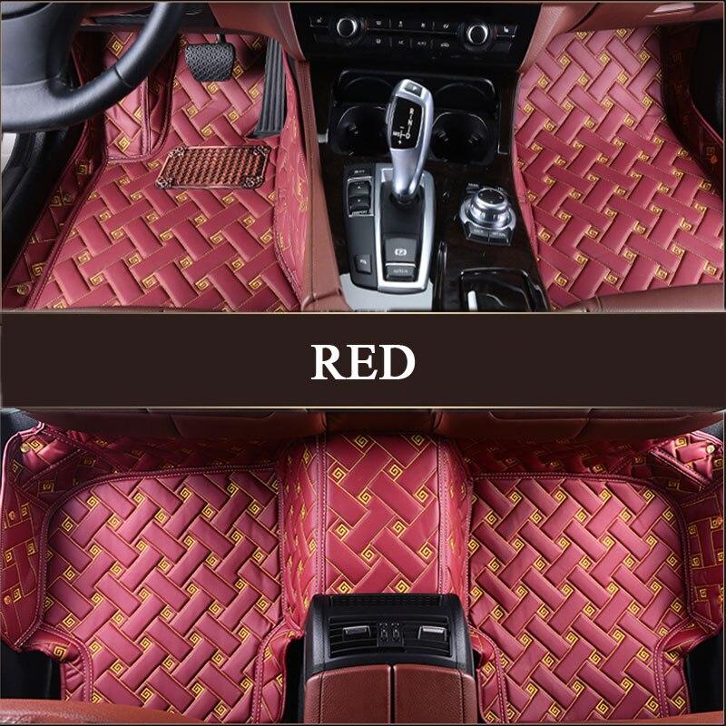 Car floor mats for mercedes benz gle320 400 500e gls sl for Mercedes benz glc 300 floor mats