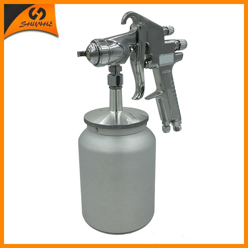 W-77S paint spray gun hvlp pneumatic air tool paint hvlp sprayer airbrush hvlp power tools professional air spray paint gun 800w electric painter spray gun 900ml latex paint sprayer 1 8m spray hose hvlp paint sprayers house painting machine power tools