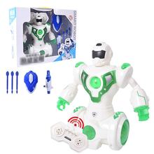 Kid Intelligent RC Robot Toy Early Education Electric Singing Infrared Puzzle Remote Control Intelligent Robot Toy For Children(China)
