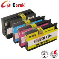 4 Pcs Free Shipping 100 Guaranteed High Capacity 950 Ink Cartridge 951 Ink Cartridge Use For