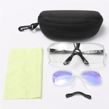 Nuevas gafas protectoras profesionales CO2 Laser 10600nm gafas de doble capa Anti-gafas láser gafas de seguridad láser