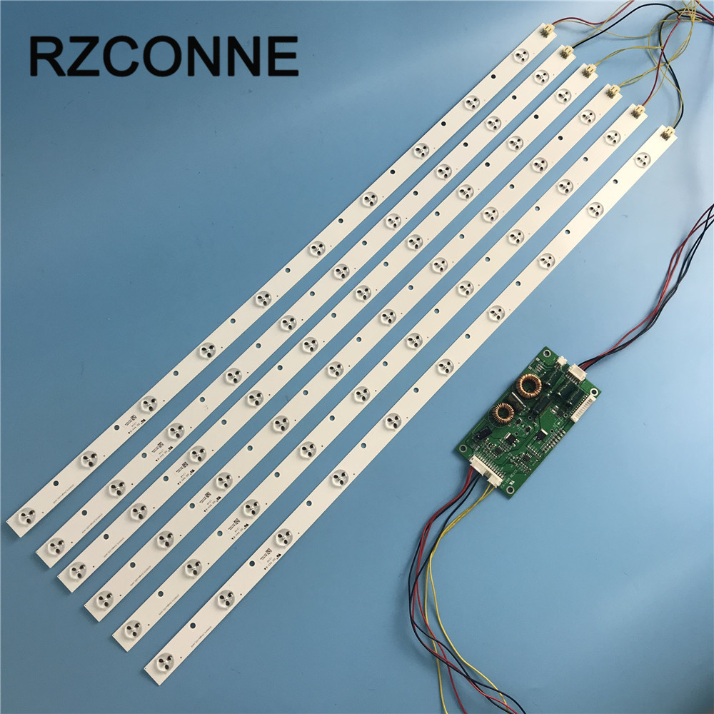 632mm*18mm 10 LEDs Generic LED backlight strip update for 32'' TV Monitor+driver board, large-size LCD new image