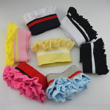 Rib cotton elastic neckline cuffs hem sweater knit dress children's clothing apparel