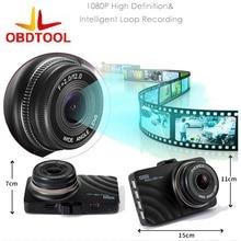 Buy Car DVR Mini H60 Dash Cam Camera Recorder ObdTool Super 1080P With  Parking G-Sensor With Loop Recording Auto Camera