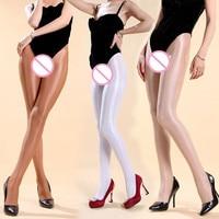 7848c03f594 70D Pantyhose Super Shiny Sleek Performance Shaping Socks Sexy Women  Transparent Velvet Solid Nightclub Tights