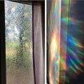 90*200 cm 3D Bunte Opaque Dekorative Fenster Glas Film Fleck Hören Isolierung Fenster Abdeckung Statische Selbst Adhesive Glas aufkleber