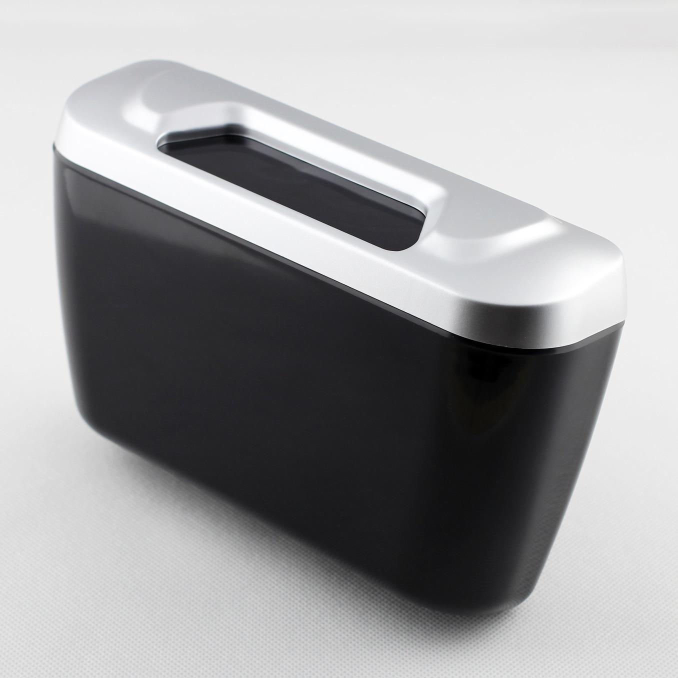 Car Multi-function Door Slot Interior Garbage Trash Rubbish Case Can Storage Box