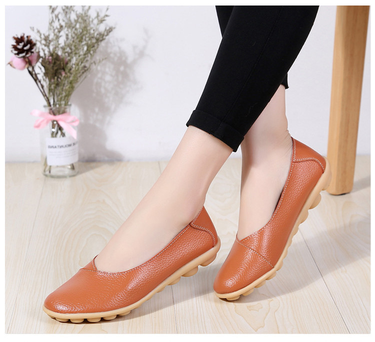 AH 5928-2019 Spring Autumn Woman Flats Casual Women Loafers-10