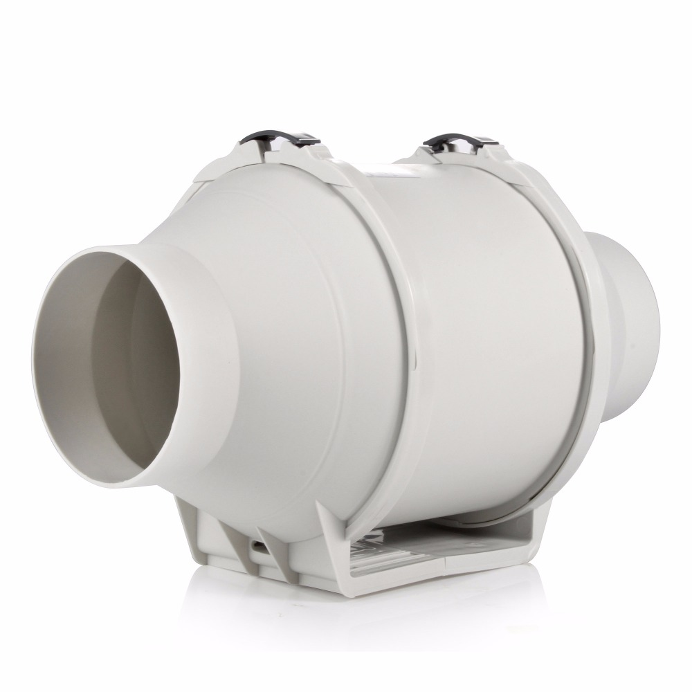 E-EMS Free Shipping 4inch HON&GUAN HF-100P Ventilation System Exhaust air mixed flow inline duct fan farm ventilators duct FAN orix 24v 1a cross flow ventilation fan mfd915 24a f1