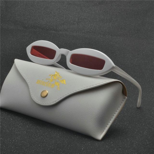 f72d74245d 2018 Retro Fashion Women Men Colorful punk Sunglasses Trending Candy Color  Style Transparent Frame Sun Glasses With box NX