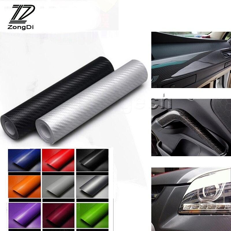 Motorcycle Accessories & Parts Buy Cheap Zd 30*127cm Car Accessories For Hyundai Tucson 2017 Solaris Ix35 I30 Suzuki Swift Mitsubish Asx Car-styling Carbon Fiber Sticker Elegant In Smell
