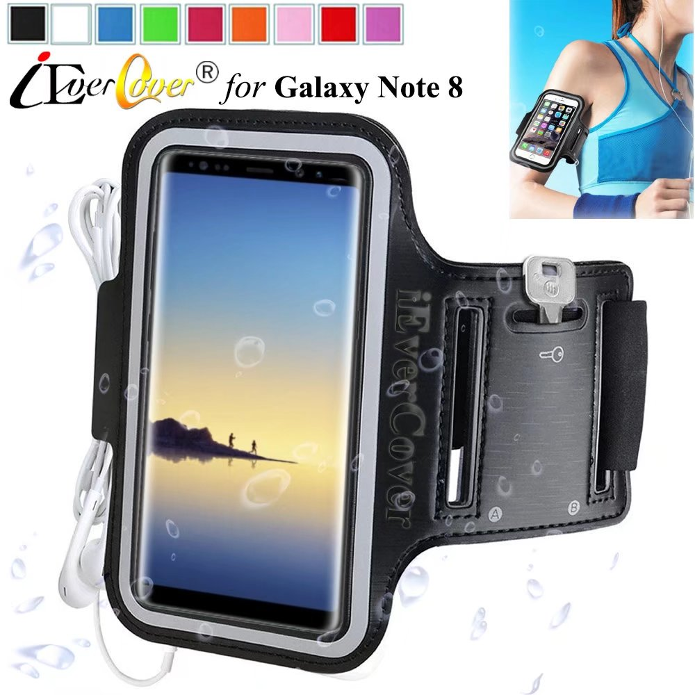 Running Bags For Huawei Honor 8 Waistpack Sport Gym Waterproof Arm Band Mobile Phone Case For Huawei Honor 9 Zip Pocket On Hand Armbands