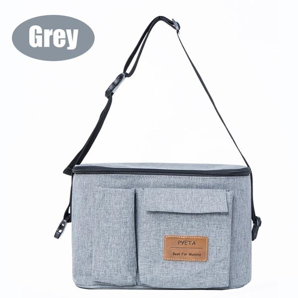 Diaper Bag For Baby Stuff Nappy Bag Stroller Organizer Baby Bag For Mom Travel Hanging Carriage Pram Buggy Cart Bottle Bag