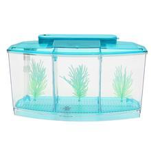 Нереста аквариума окружающей среды 2 цвета раздела аквариум для тропических рыбок Бетта аквариум без запаха орнамент выращивания молодой рыбы