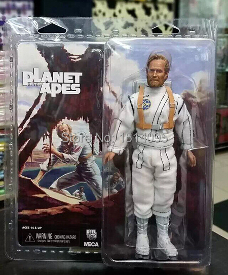 NECA Planet of the Apes George Taylor Clothed PVC Action Figure Collection Model Toy 8 20CM george crowder theories of multiculturalism