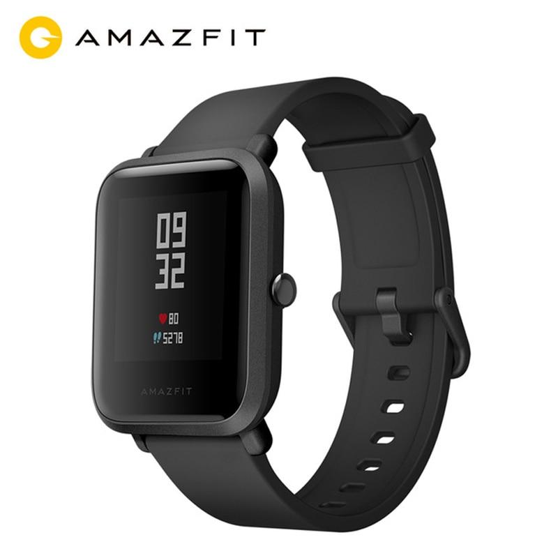 Chinese Version MI AMAZFIT Bip Youth Smart Watch GPS GLONASS Heart Rate Monitor Android 4.4 IOS 8 Bluetooth 4.0 IP68 Waterproof